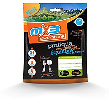 MX3 Adventure Repas lyophilisé Compote de Pomme-Framboise