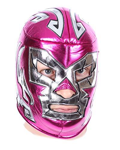 Máscara de Luchador Rosa Gigant Luchador Libreta Ringer