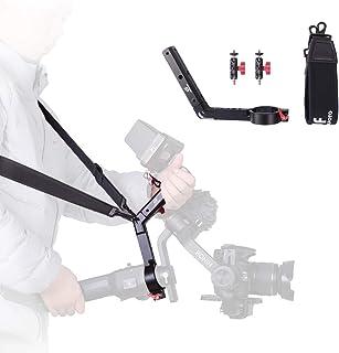 DF DIGITALFOTO Terminator Hang Strap Mounting Clamp Accessories Compatible with DJI Ronin S Gimbal Making It Like ZHIYUN WEEBILL LAB Crane 3 Setup Desgin