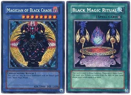 Yu Gi Oh Premium Foil voitured Magician of noir Chaos & Ritual (Secret Rare) [Toy]