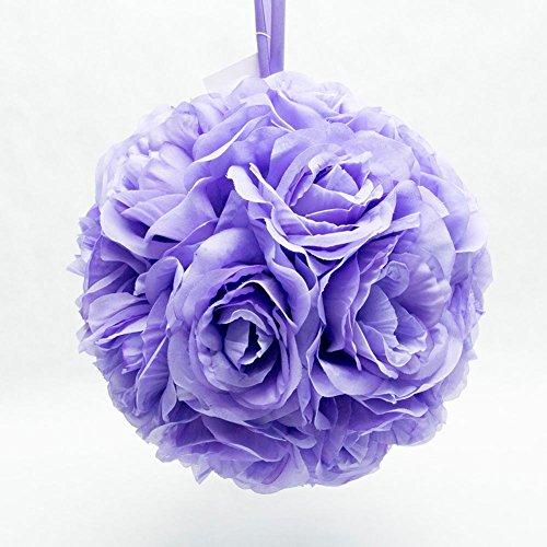 Q.J. Import, Inc 10' Lavender Flower Pomander Kissing Ball