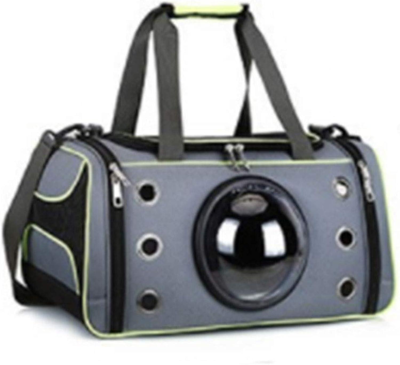 HAOJINFENG Dog Pet Bag Out Carrying Case Space Capsule Handbag Breathable Dog Bag Medium Dog Backpack Bracket
