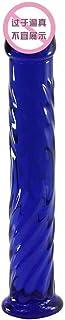 LQZYTY クリスタルガラス模造ペニス女性オナニーシリーズツール女性自衛隊アイスファイヤーマッサージスティック面白いおもちゃ ヨガマットの配置