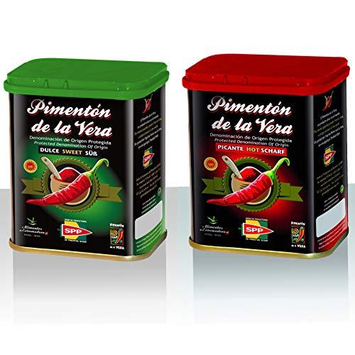 Paprikapulver Geräuchert 2er Pck ( 2x75g, Süß und Scharf ). Paprika mit geschützter Ursprungsbezeichnung
