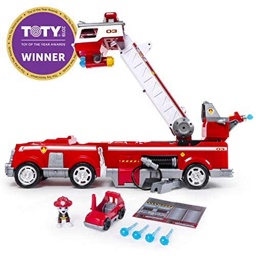 PAW Patrol - Ultimate Rescue Fire Truck with Extendable 2 Foot Tall Ladder, Ages...
