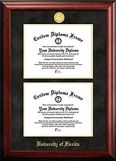 University of Florida Double Degree Diploma Frame (OTHER)