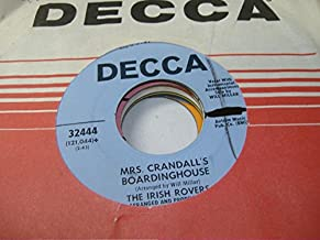 The Irish Rovers 45 RPM Lily The Pink / Mrs. Crandall's Boardinghouse