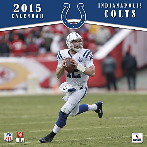 Turner Perfect Timing 2015 Indianapolis Colts Team Wall Calendar, 12 x 12 Inches (8011699)