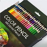 Set di 48 matite colorate, Matite Colorate da Disegno, Portapenne Esagonale