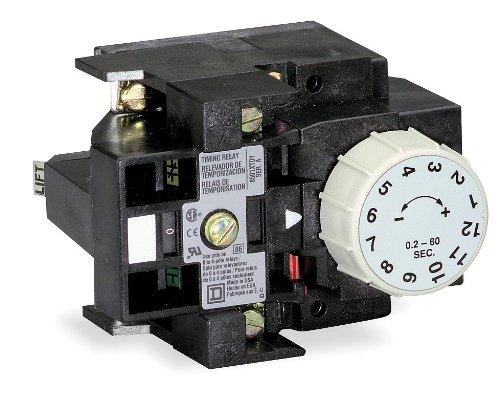 Square D 8501XTE1 Relay Pneumatic Timer Attachment NEMA