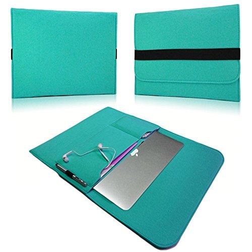 NAUC Laptop Tasche Sleeve Schutztasche Hülle Tablets MacBook Netbook Ultrabook Hülle kompatibel mit Samsung Apple Asus Medion Lenovo, Farben:Mint, Für Notebook:Sony VAIO VPC-Z21C5E