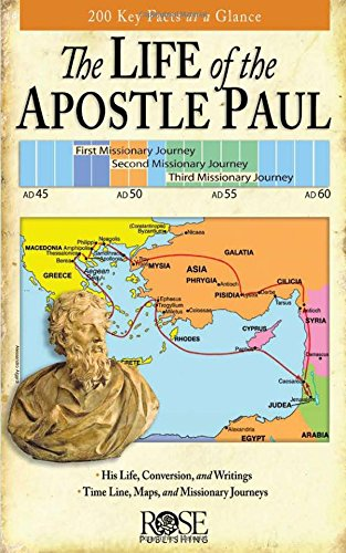 Life of the Apostle Paul pamphlet: 200 Key Facts at a Glance Pamphlet