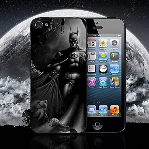 Batman Superman Marvel de cómics de Super Hero DC Apple iPhone Carcasa de silicona para iPhone 5 – 5S Negro Case