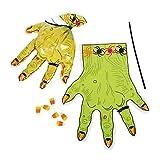 Monster Hand-Shaped Goody Bags 2 dozen