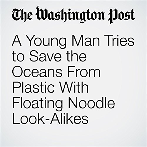 A Young Man Tries to Save the Oceans From Plastic With Floating Noodle Look-Alikes copertina