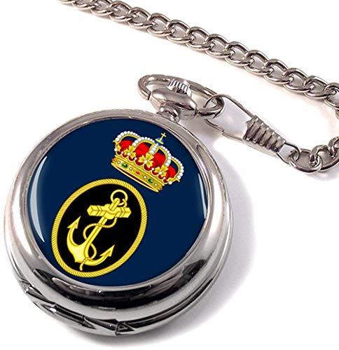 Armada Española Reloj Bolsillo Hunter Completo