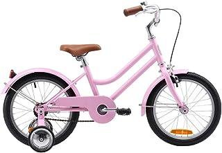 "Reid 16"" Girls Kids Vintage Push Bike Retro Classic with Training Wheels"