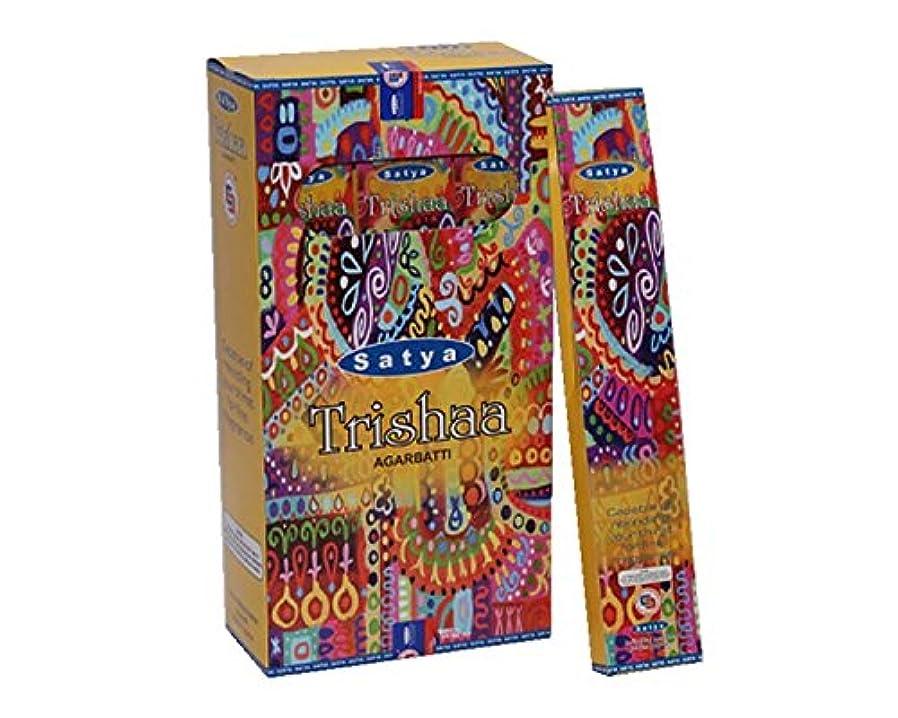 ヒロイックカニ味Satya Trishaa Incense Sticks 15グラムパック、12カウントin aボックス