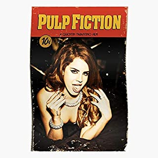 Aesthetic Fiction Rey Lana Top Trending Wall Art Decor Gift Showtime Poster