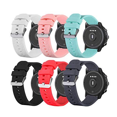 Chofit Armband kompatibel mit Arbily ID205L Armbändern, weiches Silikon, Sport-Bänder, Schnellverschluss-Ersatzarmband für Arbily ID205L Smartwatch