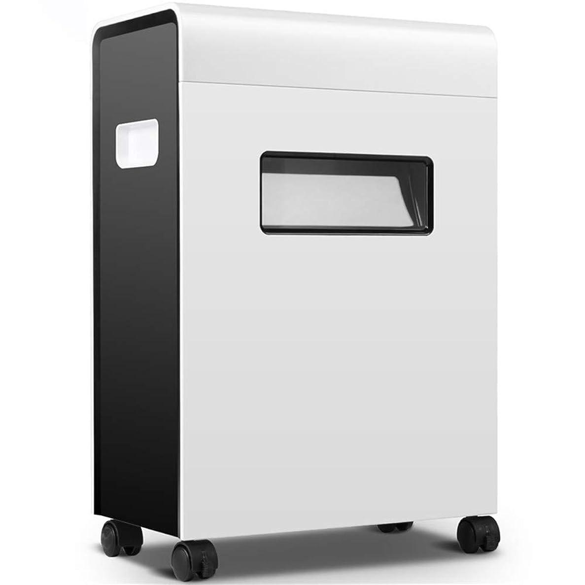 人口ステップ必要とする電動シュレッダー手動電気オフィスのシュレッダーのペーパーオフィス23Lの容積220-230VAC / 50Hz節電の自動停止のペーパーシュレッダーの引出しのタイプ