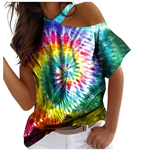 WOBANG Frauen Sommer Y2K Kurzarm Crop Top Glänzend Hot Drill Strass Cosmic Letter T-Shirt Nabel Slim Weste Basic Tops Shirt W24-2226