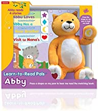 Kidsbooks Learn-to-Read Pals Plush Electronic Story Reader and 4-Book Library, Abby (Cat)