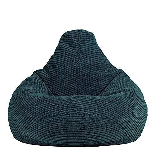 icon Mini Dalton Cord Sitzsack Stuhl, Cord Kids Sitzsack Stuhl, Flauschige Sitzsäcke für Kinder