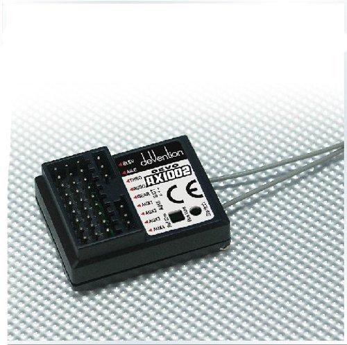 JMT Walkera Devo Rx1002 2.4g 10 Channel 10ch Receiver Compatible with Devo 6 7 8 10 12 Transmitter