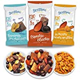 Youtopia Snacks Delicious 130-calorie Snack Packs, High-Protein Low-Sugar Low-calorie Gluten-free GMO-free Healthy Snacks, 1oz Snack Packs (Pack of 10), Variety Pack