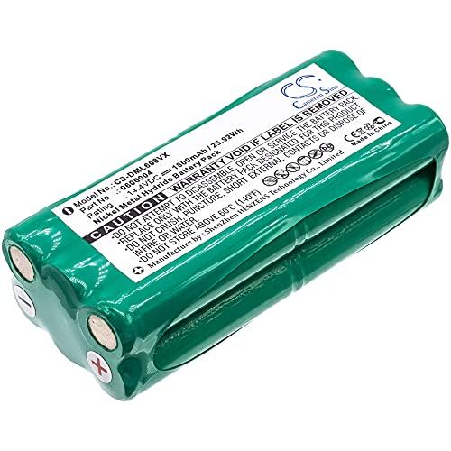 CS-DML608VX Batería 1800mAh Compatible con [Taurus] Aspirateur Striker Mini T270, Striker Mini Aspirador 079710, Striker Parqute Care, para [ECOVACS] Dibea K6, Dibea K6L, Dibea L6, Dibea ZN101, L6, Z