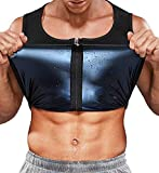 SLIMBELLE® Gilet da uomo per la perdita di peso, sauna canotta dimagrante per il corpo, bruciatore di grassi, per allenamento, fitness, sport, palestra