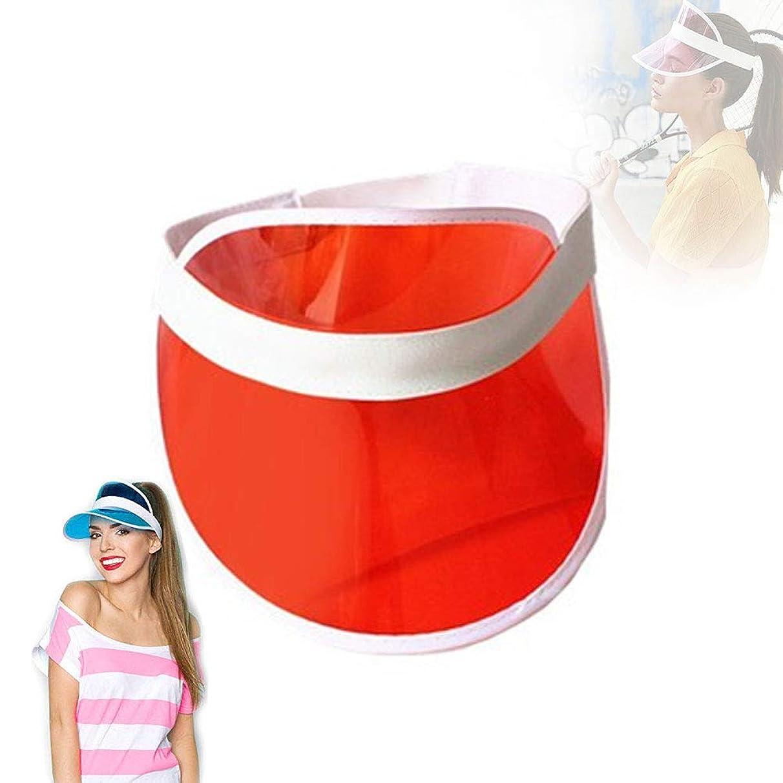 LuckCome Retro Tennis Colored Vinyl Sun Visor, Plastic Beach Color Visor, Perfect Neon Visor Beach Hat, Dealer Costume Visor, Vegas Visor, Bingo Hat, Retro 80s Visor, and Music Festivals