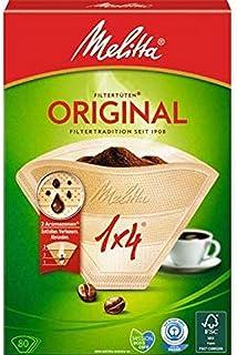 Melitta 1x4 Filtro Original para Máquina de Café