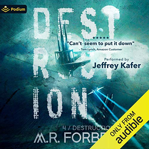Destruction Audiobook By M. R. Forbes cover art