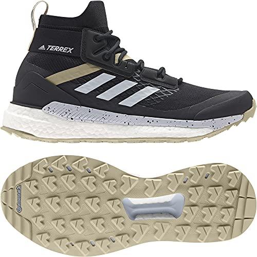adidas Zapatilla Terrex Free Hiker W, Botas de Senderismo Mujer, CBLACK/HALBLU/SAVANN, 39 1/3 EU