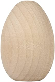 Unpainted Wooden Eggs - For Easter, Crafts and more - 2