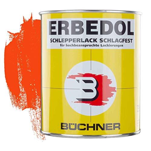Schlepperlack | REIN-ORANGE | RAL 2004 | 0,75 l | restaurieren | Traktor | lackieren | Farbe | Trecker | Frontlader | Lack | Lackierung | Farbton | schnelltrocknend |...