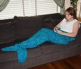 4aSong Adult Mermaid Tail Blanket Knitting Pattern