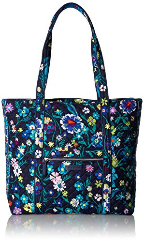 Vera Bradley Signature Cotton Vera Tote Bag, Moonlight Garden