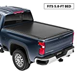 RetraxONE MX Retractable Truck Bed Tonneau Cover | 60461 | Fits 2014-2018 Chevy Silverado & GMC Sierra, 1500 Legacy/Limited (2019) & 2500/3500 (15-19) 5' 8' Bed