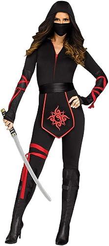 Horror-Shop Costume Ninja Warrior femme L