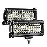 2 x 288W Scheinwerfer LED Zusatzscheinwerfer, LTPAG 7'...