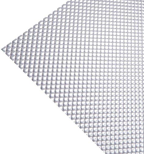 """KastLite Clear Acrylic Prismatic Lighting Panel - Heavy Duty   22.25"""" x 46.25""""   .125"""" Thick   Fluorescent Lighting for Overhead Fixtures   6 Pack"""