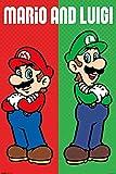 Póster Nintendo Super Mario - Mario & Luigi (61cm x 91,5cm) + 1 Póster con motivo de paraiso playero