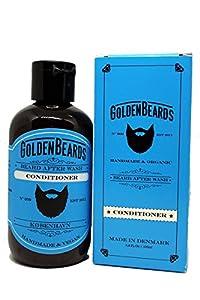 Acondicionador de barba Orgánico (100ml) – Golden beards- Hidrata tu barba y piel. Nuestros productos son 100% Veganos & Naturales y NO TESTEADOS con ANIMALES.