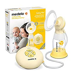 Compact, portable, easy to use: This electric breast pump is compact and portable, and you can conveniently switch between phases and vacuum levels finding the most comfortable setting for you Comfortable, efficient expression: Swing Flex comes compl...
