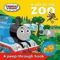 Thomas & Friends: A Day at the Zoo a peep-through book