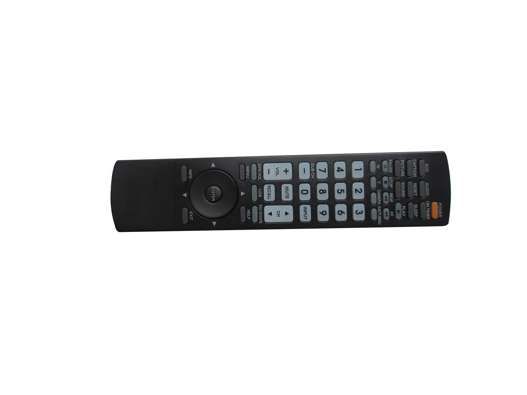 Mando a Distancia Universal de Repuesto para televisores Sanyo AVM-2535U AVM-2553 AVM-2554 AVM-2754 AVM-2755 AVM-2756 CRT LCD LED Plasma HDTV: Amazon.es: Electrónica