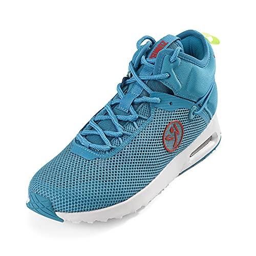 Zumba Air Classic Remix High Top Fitness Workout Dance Shoes for Women, Zapatillas Mujer, Blue Funk, 42 EU